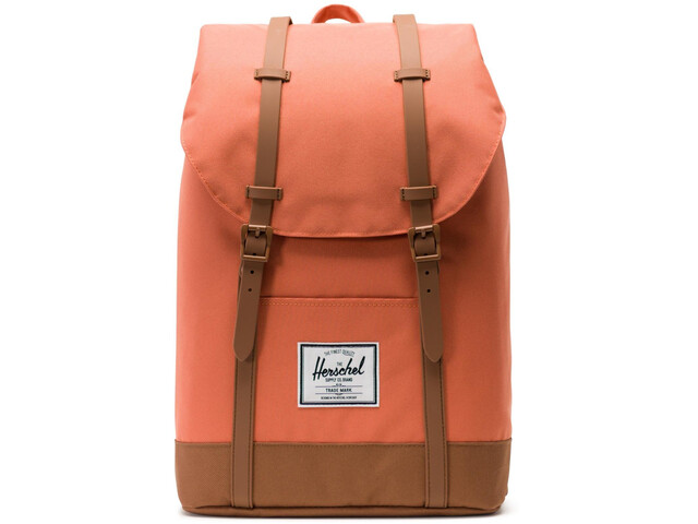 Herschel Retreat Sac à dos 19,5l, apricot brandy/saddle brown